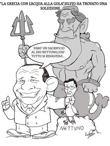 Silvio e la Crisi Greca