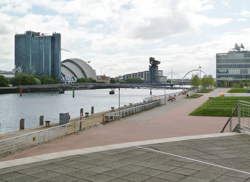 Glasgow and River Clyde