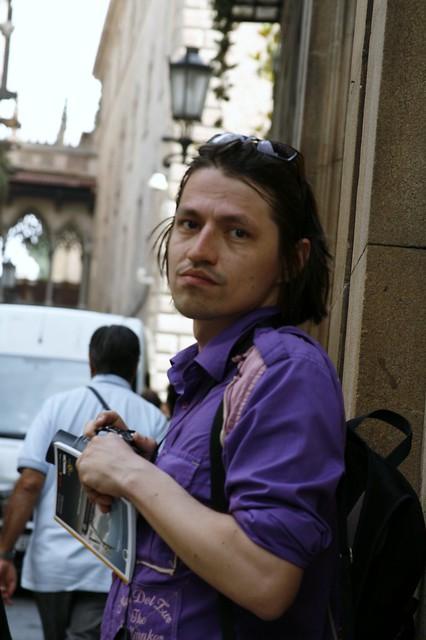 Егор в готическом квартале