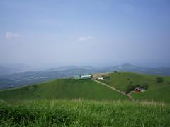 大室山山頂から伊東方面