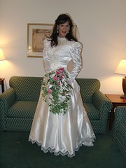 Bridal Gown 1 (xgirltv1000) Tags: wedding drag bride tv dress transformation cd makeup tgirl transgender tranny transvestite brides makeover bridal dragqueen transgendered crossdresser crossdress tg travesti tranvestite travestie transformista transgenger