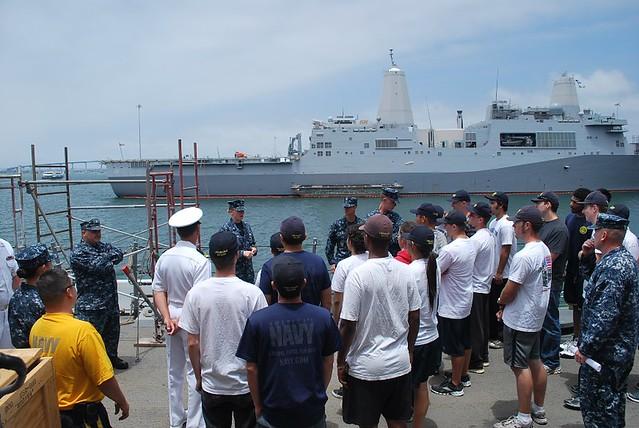 Tour Aboard USS Milius