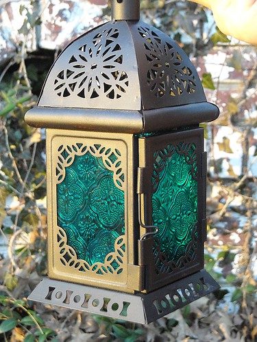 Teal Lantern (Christmas gift) 2