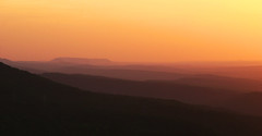Sunset across the Ozark Foothills (Shauna Lea) Tags: sunrise horizon arkansas rivervalley dardanelle nebo ozarkfoothills