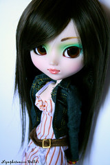 Rikku 45 (Pullip Prunella) (Nymphetamine Girl) Tags: doll planning wig pullip pullips jun prunella rikku obitsu rewigged sbhm