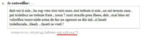 Comentarii Gazeta de Sud