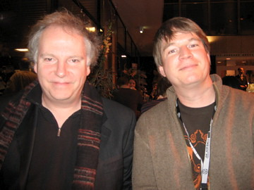 Dave Filipi and Guy Maddin