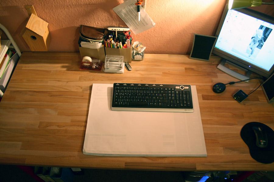 workspace I I
