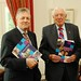 Peter Robinson and Dr Ian Paisley with Programme for Government