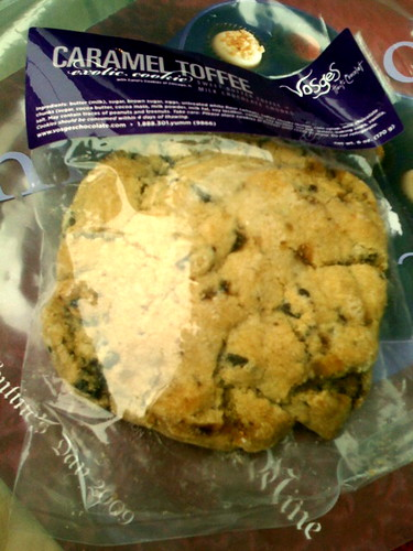 Vosges - and they make caramel toffee cookies!!!