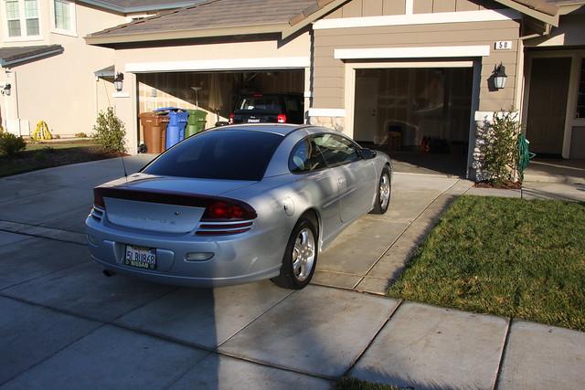 2002 car silver dodge rt stratus