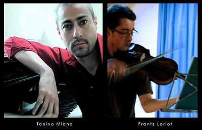 New Release on Impressus Records! Ulysses, Frantz Loriot (Viola), Tonino Miano (Piano)