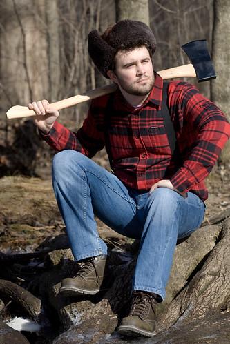 Lumberjack Devin