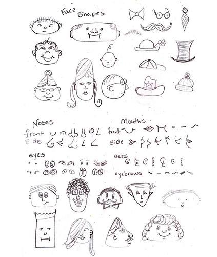 Face Doodling