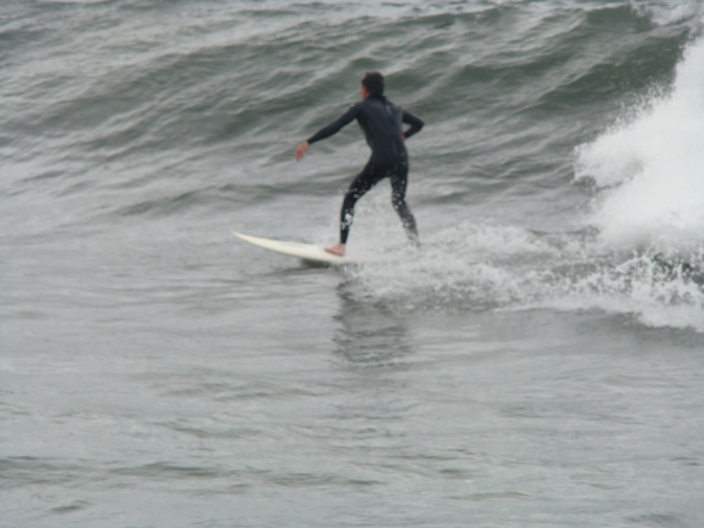 Surfing at Hermosa Beach 1