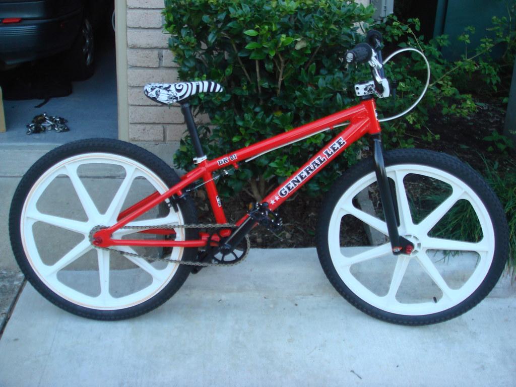 "latest bike build 24"" General Lee"