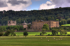 Chatsworth House, Derbyshire (**Anik Messier**) Tags: uk england countryside sheep searchthebest britain derbyshire peakdistrict peak angleterre hdr chatsworth chatsworthhouse ultimateshot citrit dukeandduchessofdevonshire vosplusbellesphotos welcomeuk
