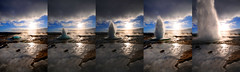 Strokkur Geyser in action - Iceland (5ERG10) Tags: blue sky sun snow reflection ice water sergio lens landscape island iceland nikon europe action turquoise great wideangle springs handheld series sulphur geology geyser burst sulfur scandinavia hotspring geothermal geysir strokkur thermal vapour eruption ísland boiling churn icelandic geysers the islanda d300 haukadalur nordiccountries gusher sigma1020 geisyr nohdr stóri arnessysla geysirarea lýðveldið árnessýsla amiti 5erg10 sergioamiti