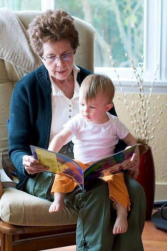 Reading with Grandma Patty