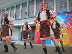 Russia Easter celebration in Zapoljarnyj #13