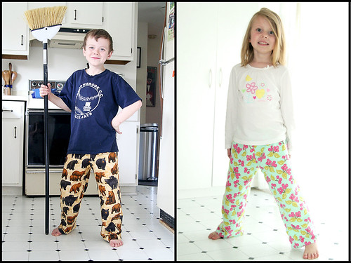 PJ Pants for Sam and Claire