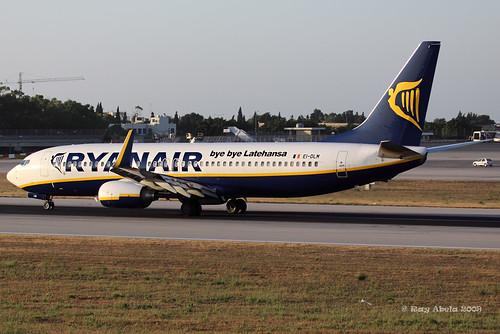 Special Logo Ryanair - Malta