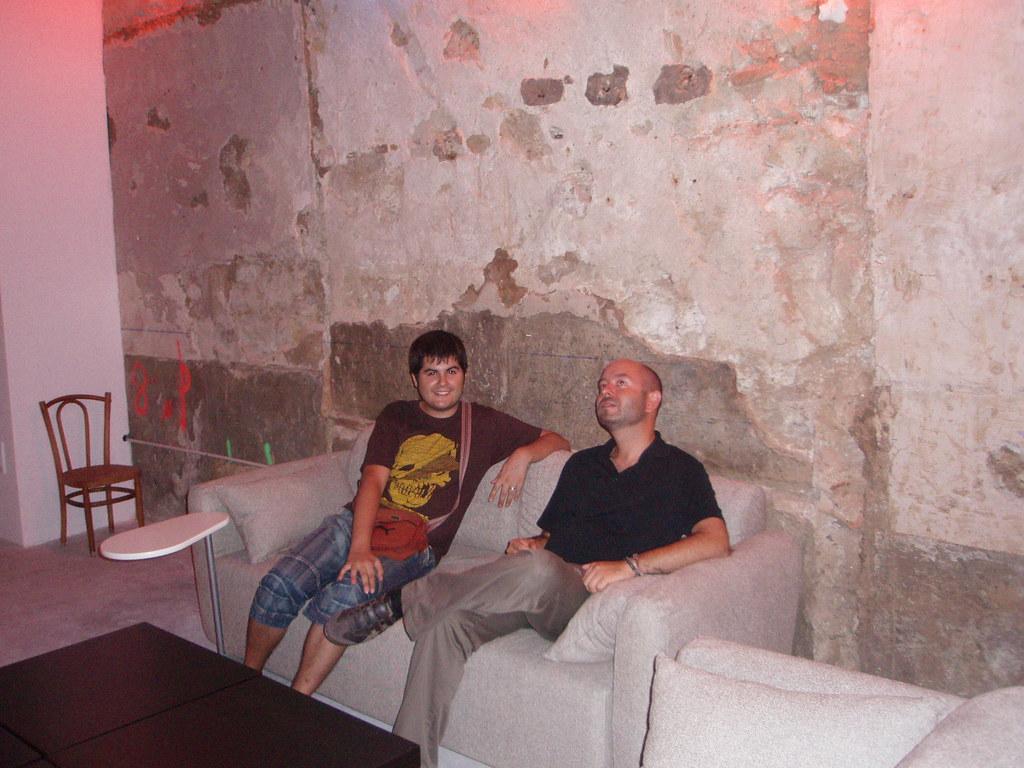 Pau y León en el Hostal de Sal