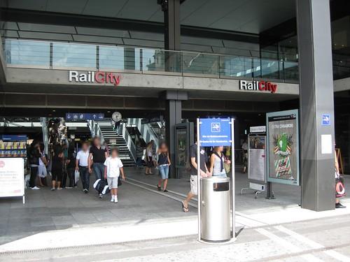 Neuer Haupteingang beim Bahnhof Bern