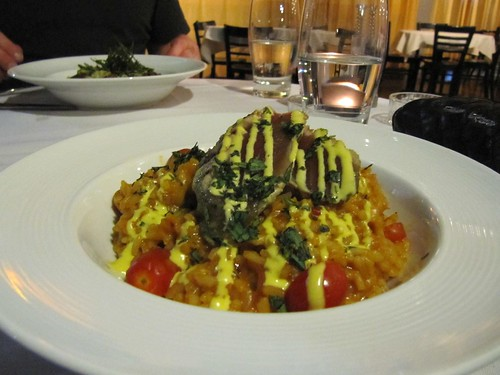 Rich Seafood and Baby Tomato Carnaroli Risotto