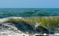 Breaking Wave (wireman2777) Tags: ocean ny li waves longislandny panasonic townbeach suffolkcounty fz8 overlookbeach