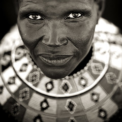 El Molo tribe woman - Kenya (Eric Lafforgue) Tags: africa portrait people woman face necklace kenya culture tribal explore human tribes afrika tradition tribe ethnic kenia molo tribo jewel gens visage afrique ethnology tribu eastafrica elmolo qunia lafforgue ethnie  qunia infinestyle 6480    kea    humainpersonne a