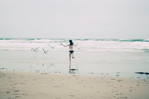 olivia chasing birds