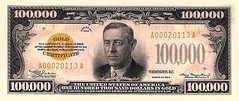 $100,000_dollar_bill (Father Bernhardt) Tags: 20bill banknotes uscurrency 10bills