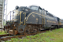 EMD BL2 (DaveLadore) Tags: railroad trains westvirginia locomotive