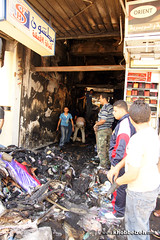 downtown Amman stores fire!