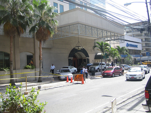 Panama City Panama Marriott Hotel entrance