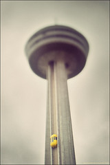 My small Niagara (mk is Watoo) Tags: tower 20d water fog vintage niagarafalls boat drops eau lift canon20d elevator foam crossprocessing scifi sciencefiction thunderbirds bateau homemadelens brume skylontower gouttes cume tiltshift digitalcrossprocessing tiltshiftlens chutesduniagara objectifbascule