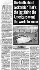 The truth about Lockerbie by Tam Dalyell