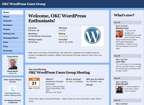 OKC WordPress Users Group (Edmond, OK) - Meetup.com