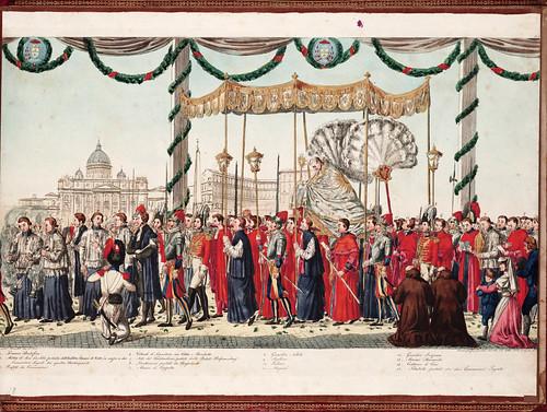 021 Solenne processione vaticana del Corpus Domini  diretta da uno de cerimonieri di Sua Santita` Gregorio XVI 1839