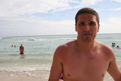 Jeff has wife beater sun burn! LOL! (TheGirlsNY) Tags: hawaii oahu waikikibeach