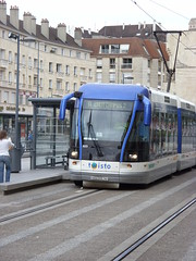 Tram in Caen Photo