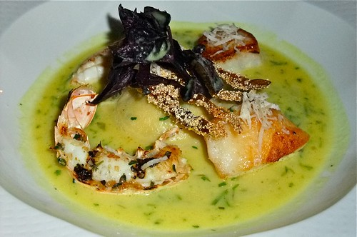 My 2nd Course: Sauteed Seafood in a Coconut Broth