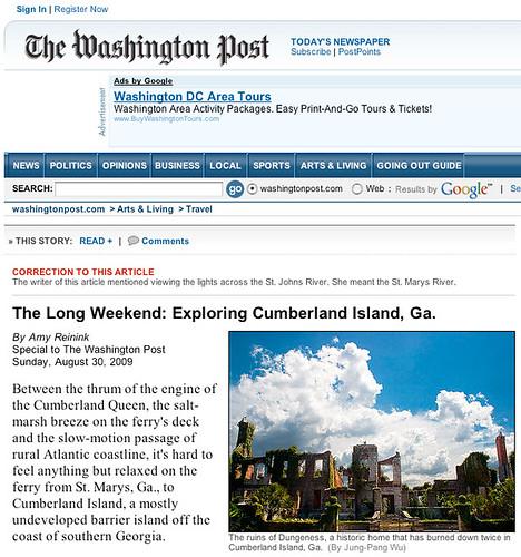 My Photo on 2009.08.30 The Washington Post