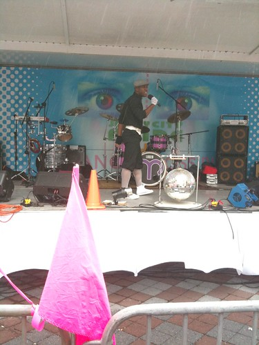 Dy'Ari performing, JC Pride