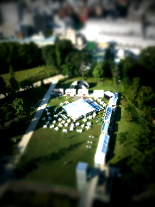 Beer Garden - Photo by TiltShift Generator