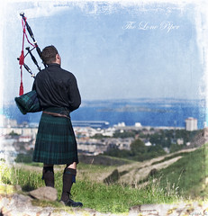 The Lone Piper - Explored (Grant_R) Tags: texture ex square scotland nikon edinburgh raw kilt scottish sigma tourist tourists holyrood acr piper bagpipes f28 arthursseat textured scots tartan blend firthofforth parkland 70200mm capitalcity d90 hsm huntersbog nikond90 grantr reallyscottish blendedlayer