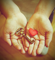 Love is the key! (in Explore) (Love is the key) Tags: boy baby love vintage is hands key heart mani feeling cuore amore bambino chiave