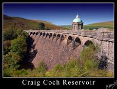 Craig Coch Reservoir Elan Wales (mark.alexander5) Tags: lake color colour water wales canon landscape stream lakes reservoir september viaduct 1d valley elan 2009 levee digitalcameraclub