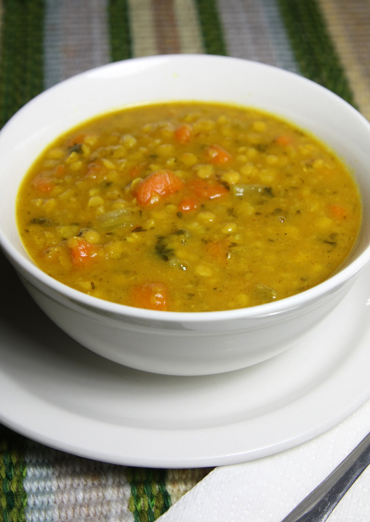 how to cook dhal soup